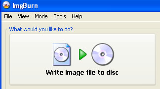 Burn ISO image of  DVD slideshow to disc