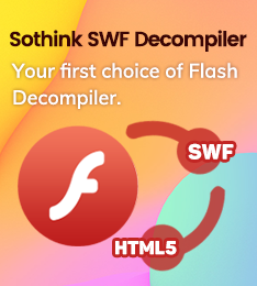 Sothink SWF Decompiler banner